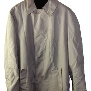 Outerwear Trench Coat With Removable Lining